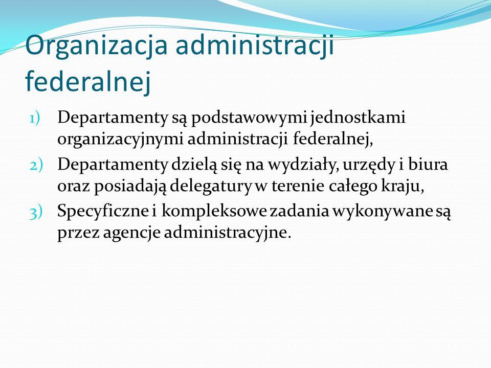 Organizacja administracji federalnej