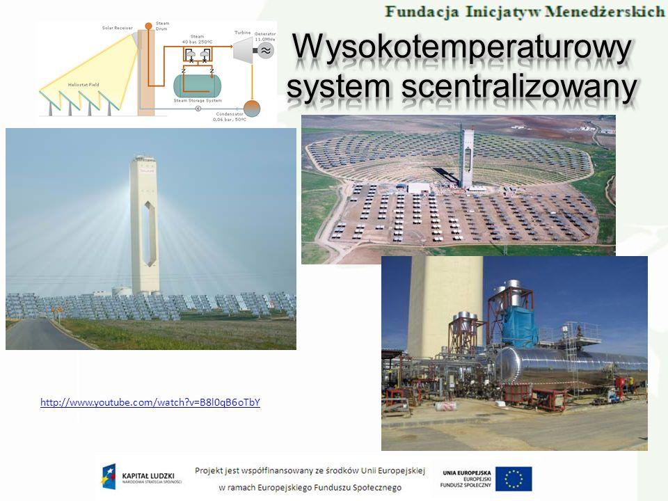 Wysokotemperaturowy system scentralizowany