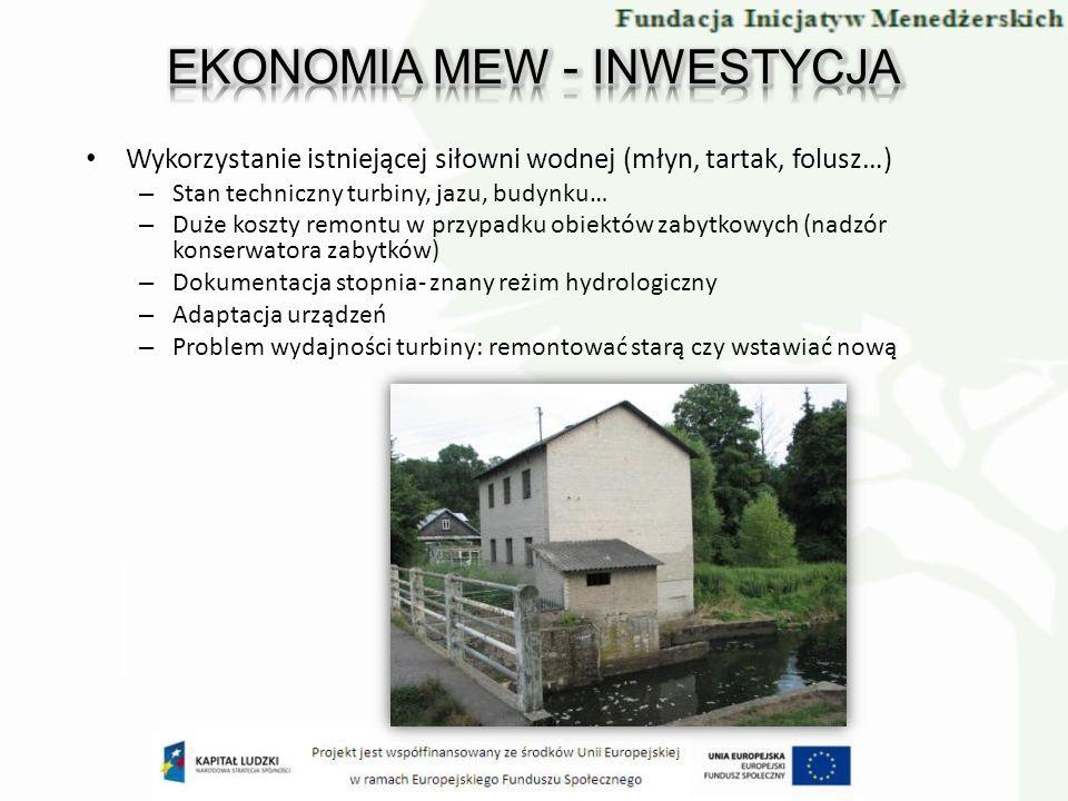 EKONOMIA MEW - INWESTYCJA