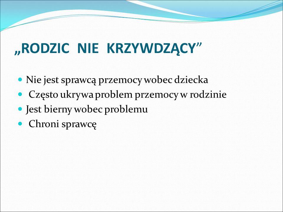 """""""RODZIC NIE KRZYWDZĄCY"""