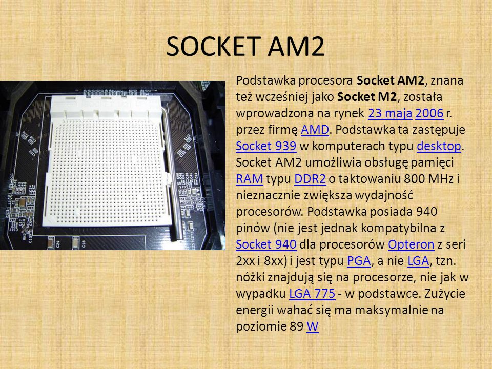 SOCKET AM2