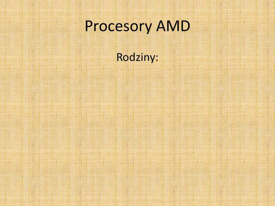 Procesory AMD Rodziny: