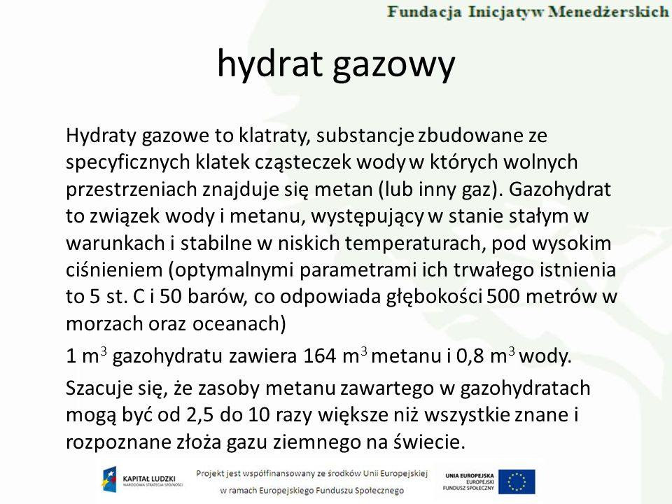 hydrat gazowy