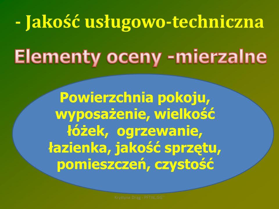 Elementy oceny -mierzalne