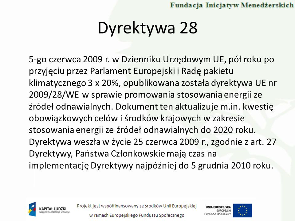 Dyrektywa 28