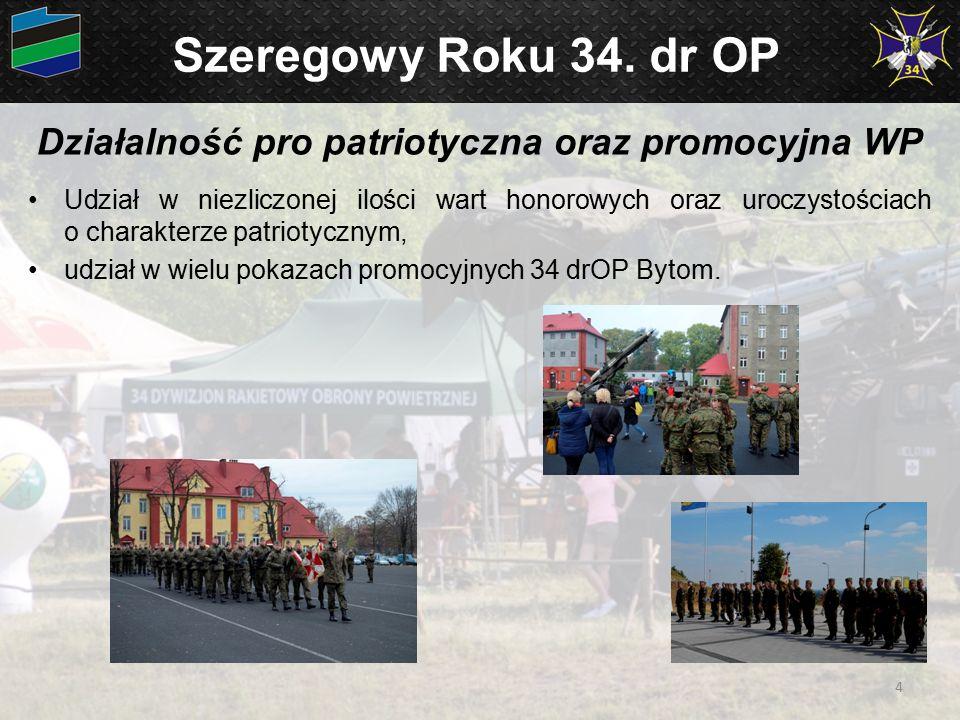 Działalność pro patriotyczna oraz promocyjna WP