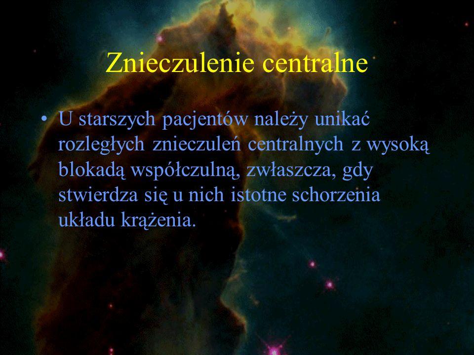 Znieczulenie centralne