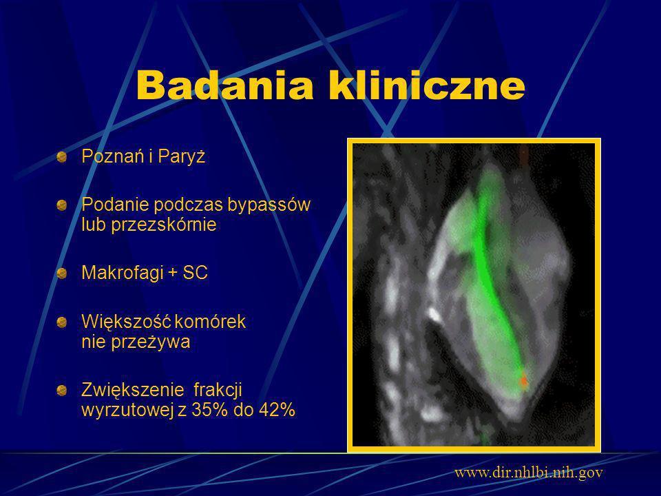 Badania kliniczne Poznań i Paryż