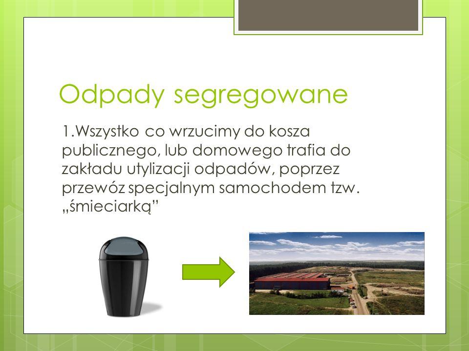 Odpady segregowane