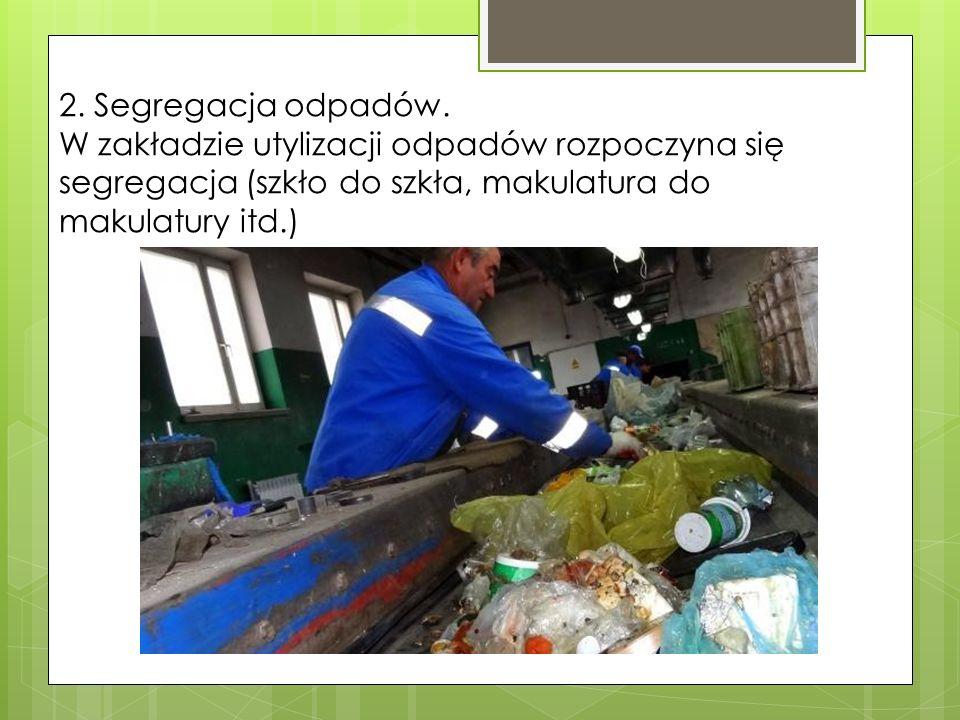 2. Segregacja odpadów.