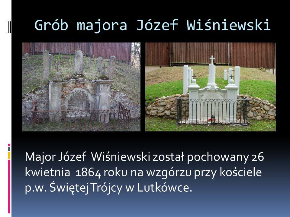 Grób majora Józef Wiśniewski