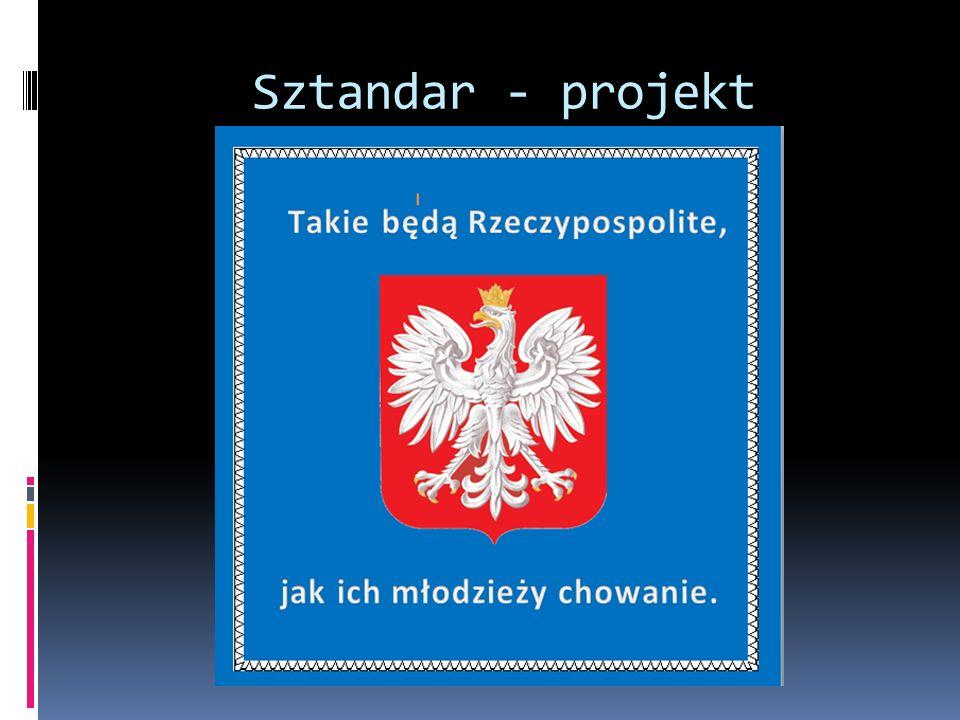 Sztandar - projekt