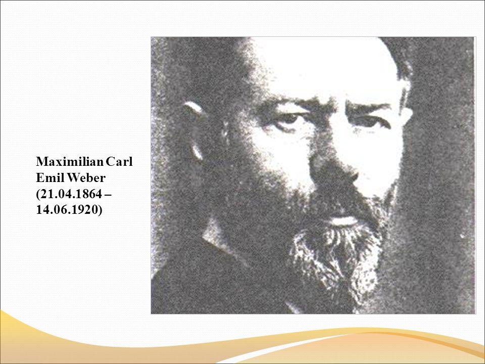 Maximilian Carl Emil Weber (21.04.1864 – 14.06.1920)
