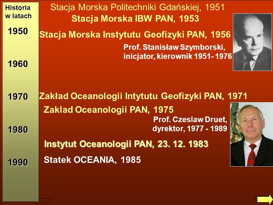 Instytut Oceanologii PAN, 23. 12. 1983