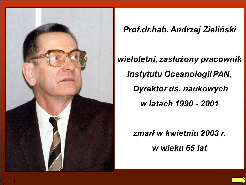 Prof.dr.hab. Andrzej Zieliński