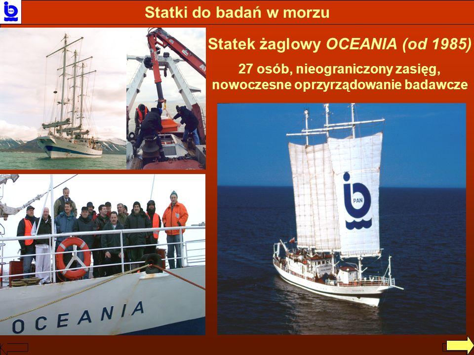 Statek żaglowy OCEANIA (od 1985)