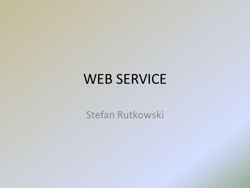 WEB SERVICE Stefan Rutkowski