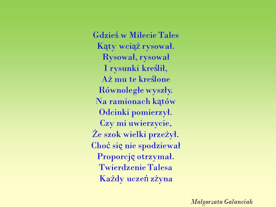 Gdzieś w Milecie Tales Kąty wciąż rysował.