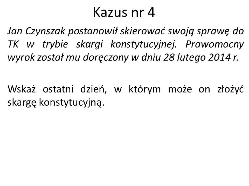 Kazus nr 4
