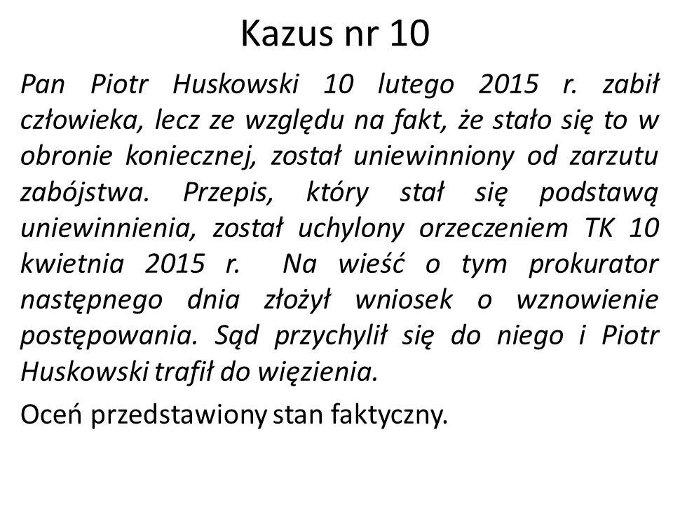Kazus nr 10