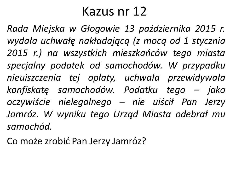 Kazus nr 12
