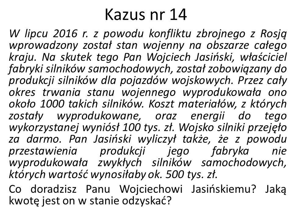 Kazus nr 14