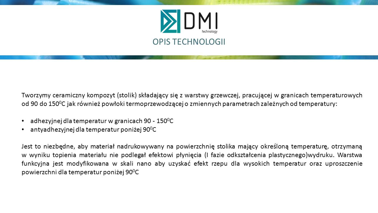 OPIS TECHNOLOGII