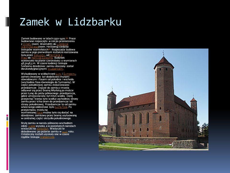 Zamek w Lidzbarku