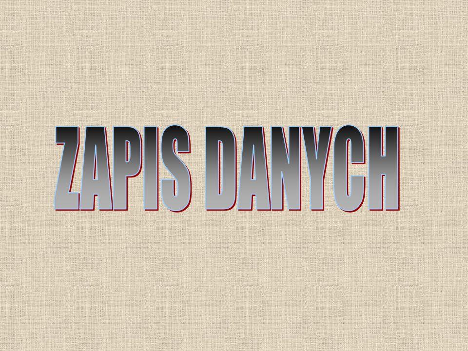 ZAPIS DANYCH