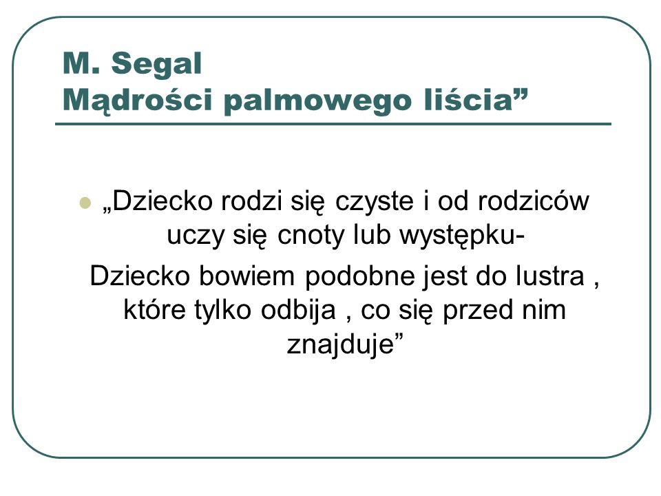 M. Segal Mądrości palmowego liścia