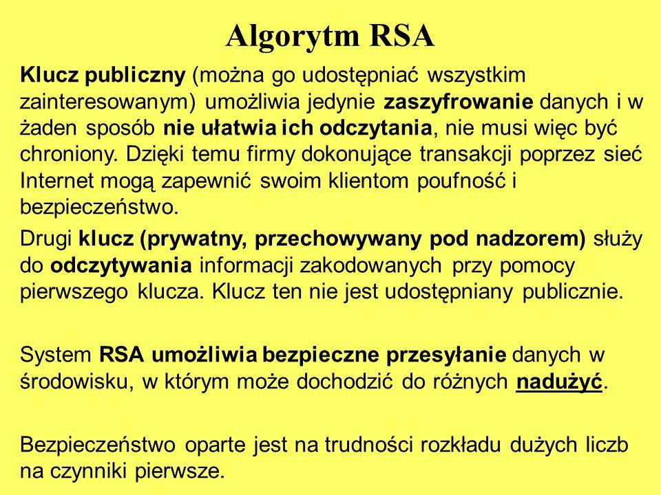 Algorytm RSA