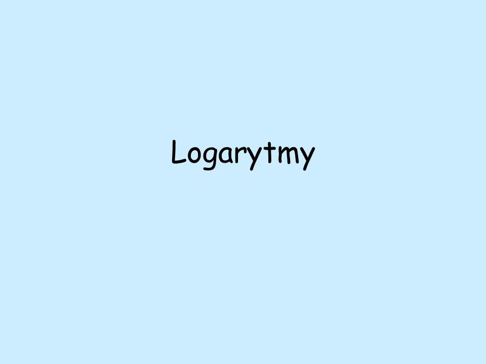 Logarytmy