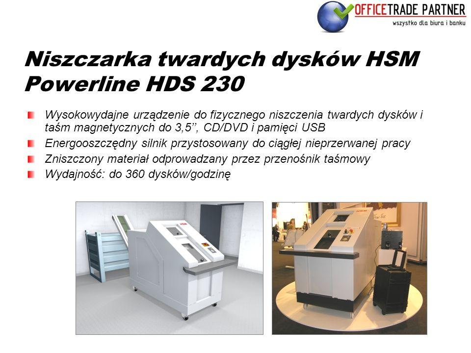 Niszczarka twardych dysków HSM Powerline HDS 230