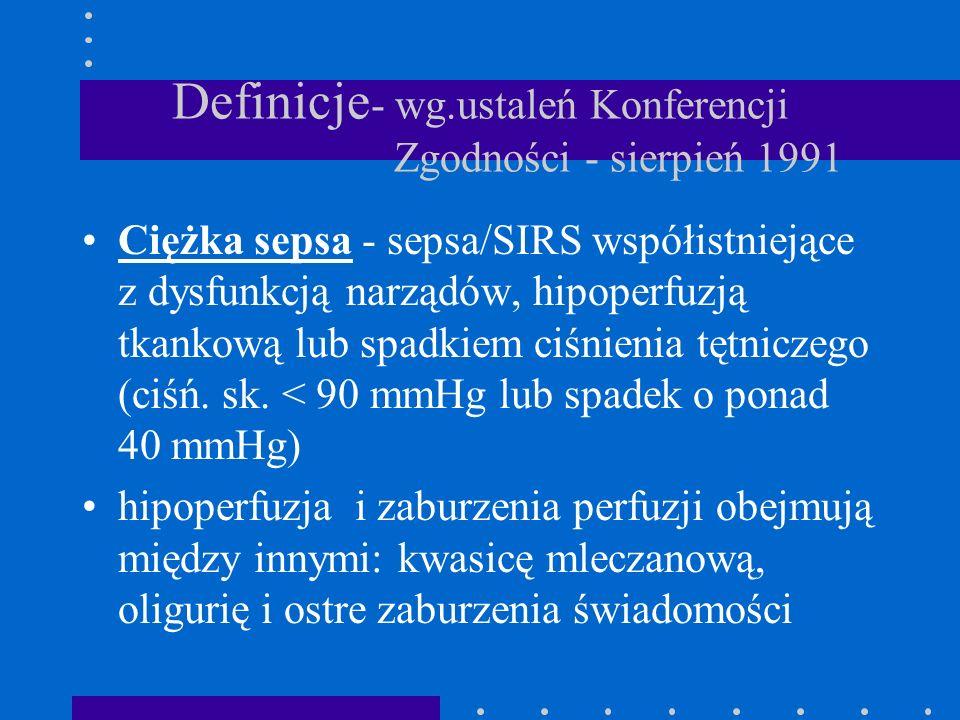 Definicje- wg.ustaleń Konferencji Zgodności - sierpień 1991