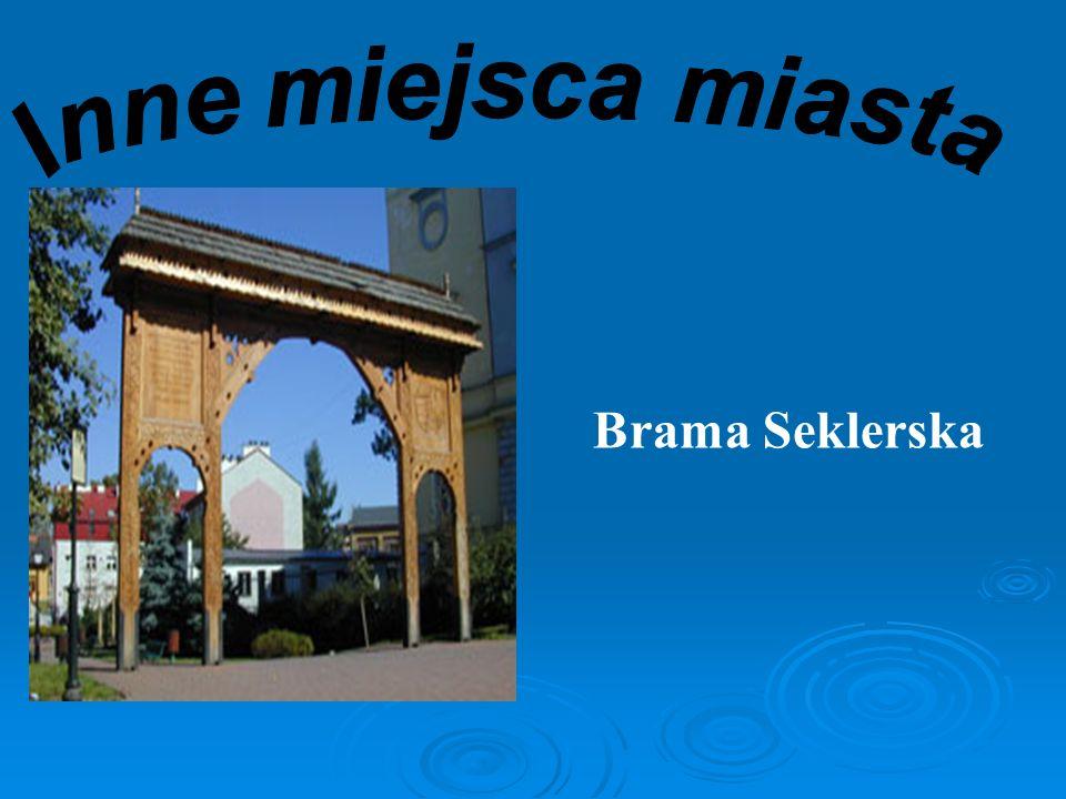 Inne miejsca miasta Brama Seklerska