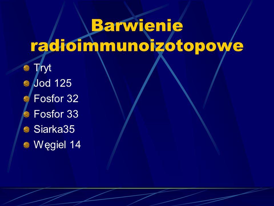 Barwienie radioimmunoizotopowe