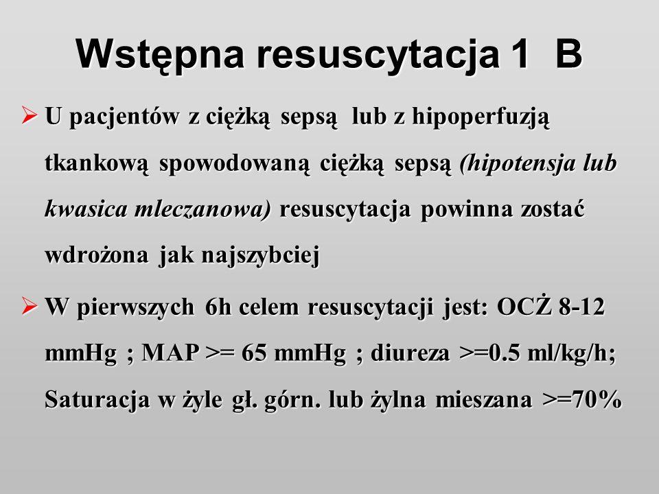 Wstępna resuscytacja 1 B