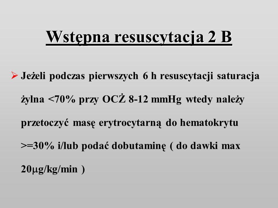 Wstępna resuscytacja 2 B