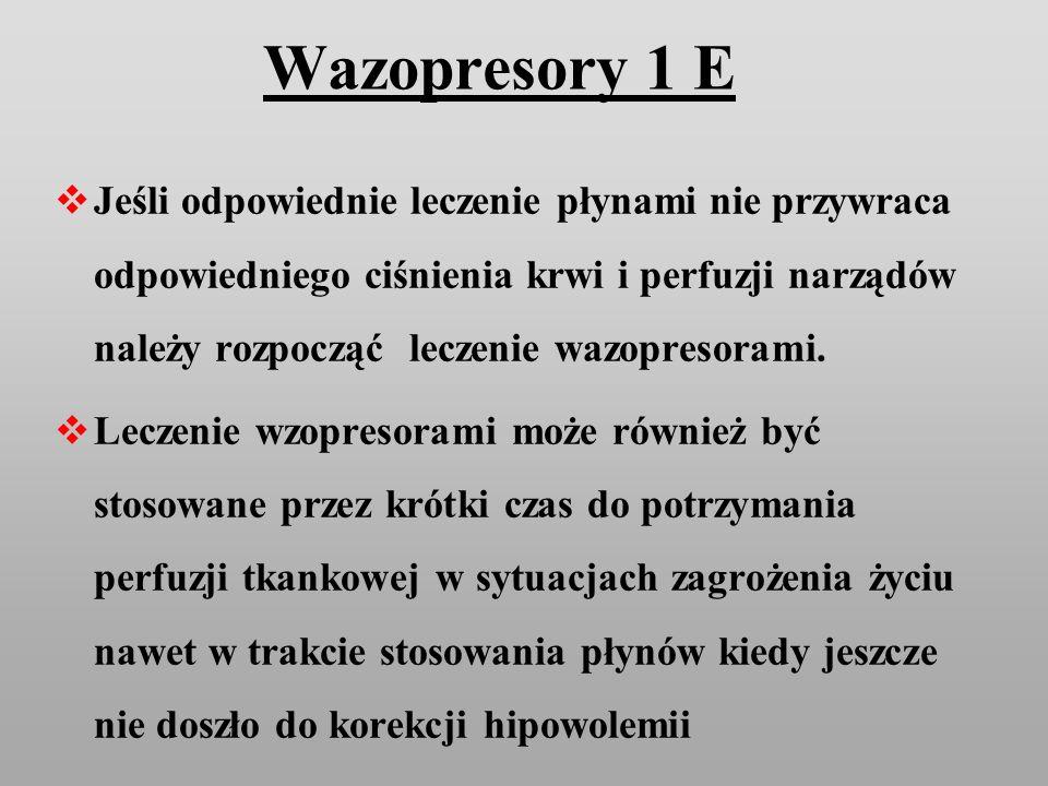 Wazopresory 1 E