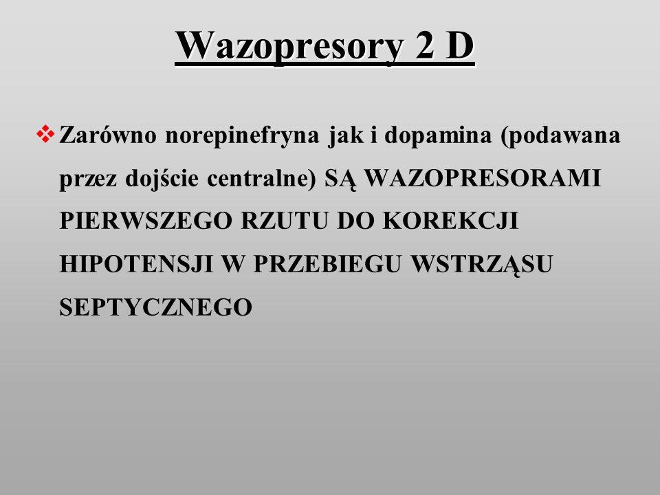 Wazopresory 2 D