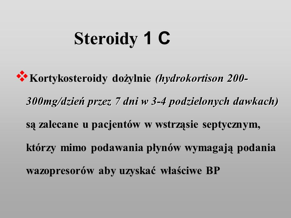 Steroidy 1 C