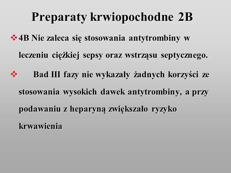 Preparaty krwiopochodne 2B