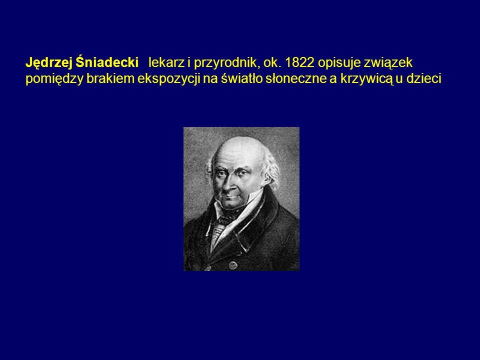 Jędrzej Śniadecki lekarz i przyrodnik, ok. 1822 opisuje związek