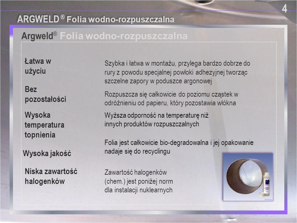 Argweld® Folia wodno-rozpuszczalna