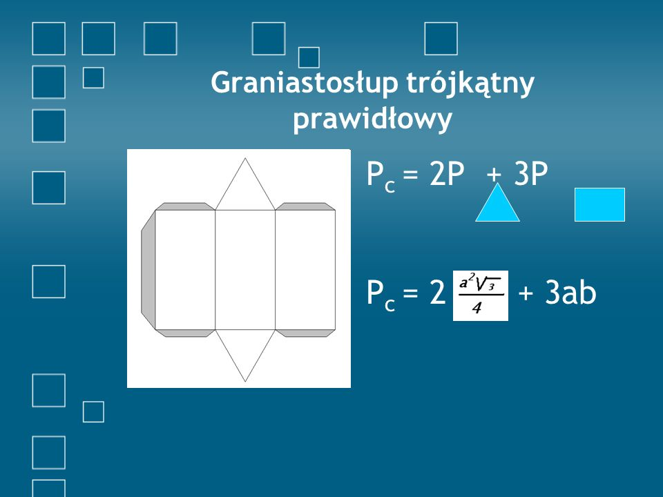 Graniastosłup trójkątny prawidłowy