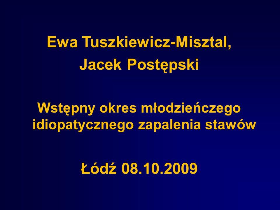 Ewa Tuszkiewicz-Misztal, Jacek Postępski Łódź 08.10.2009