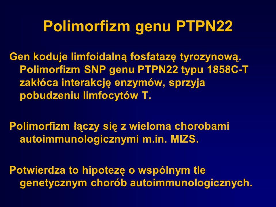 Polimorfizm genu PTPN22