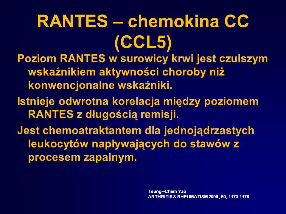 RANTES – chemokina CC (CCL5)