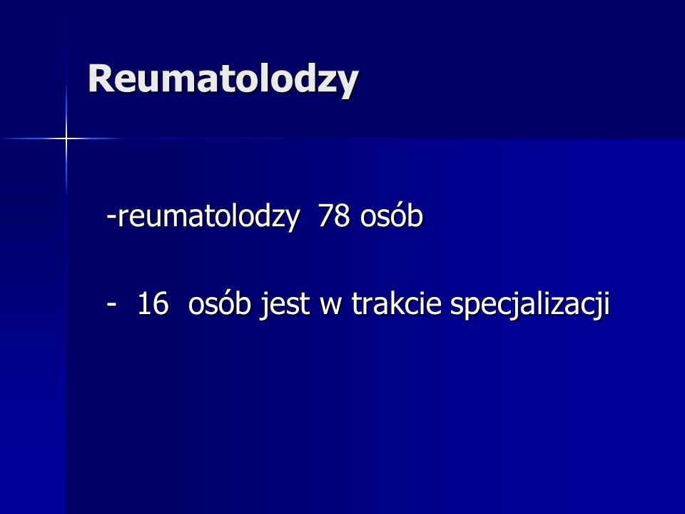 Reumatolodzy -reumatolodzy 78 osób