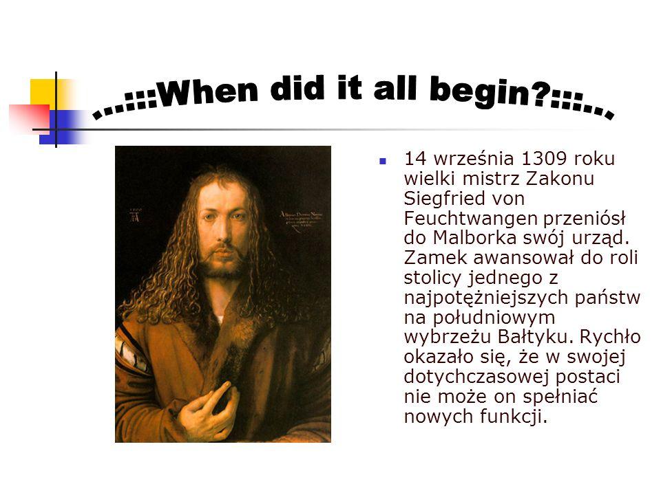 ...:::When did it all begin :::...